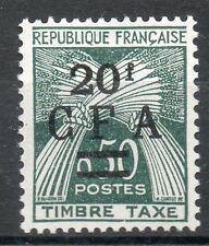 Réunion timbre TA N° 47  neufs **