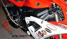 Yamaha YZF-R1 YZFR1 2002-2003 R&G RACING black classic round crash protectors