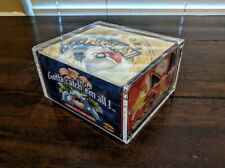Pokemon Booster Box PROTECTIVE MAGNET CASE (Base ,Neo, Legendary, Gym, all new)