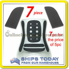 GO KART SEAT PADDING HIGH DENSITY 5 PIECE WATER PROOF ADHESIVE KARTELLI 10mm ! !