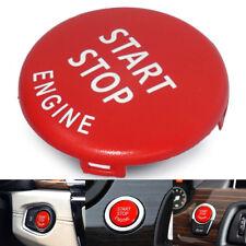 Red Engine Start Stop Switch Button Cover Fits BMW E60 E70 E90 E92 E93 3 Series