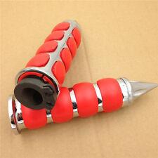 """Red Spike 7/8"""" Handlebar Grips for Honda CBR600RR CBR600SE CBR900RR CBR929RR"""