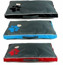 LARGE WATERPROOF DOUBLE SIDE DOG PET CAT BED MAT CUSHION MATTRESS WASHABLE COVER