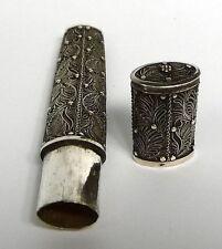 Nadelbehälter Russland Silber 19 Jh.