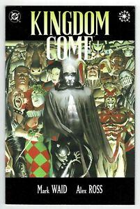 Kingdom Come Graphic Novel Book One 1996  HIGH GRADE!