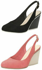 Clarks Suede Slingbacks Sandals & Beach Shoes for Women