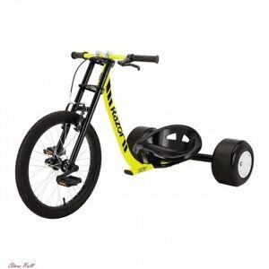 Dxt Drift Trike Steel Frame Wheels Pedals Alloy Crank Handlebars Axle Cycling