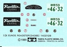 TAMIYA Decal 24085 1/24 Eunos Roadster