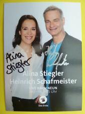 Alina Stiegler & Heinrich Schafmeister - Das Erste Live nach Neun (Neu 2019)