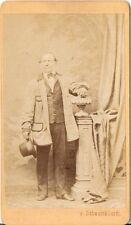 Schweickhardt CDV photo Feiner Herr - Stockerau 1870er