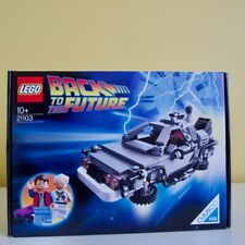 LEGO Back to The Future The DeLorean Time Machine (21103) Cuusoo #004 New Sealed