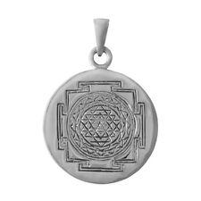 Brand New Wholesale Sterling 925 Silver Sri Yantra Tantric Meditation Pendant