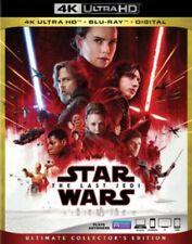Star Wars: The Last Jedi 4K Ultra HD Blu-ray/Blu-ray Includes Digital Copy NEW