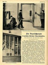 Die Feuersicherheit in großen Berliner Warenhäusern * Bildreport von 1903