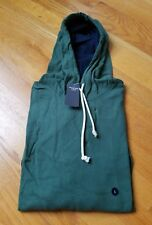 NWT Abercrombie & Fitch Varsity Hoodie Green Large