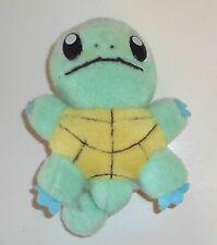 "Vintage Pokemon - #007 SQUIRTLE - 7"" Plush Toy (P003)"