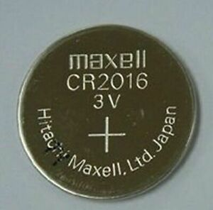 Maxell CR2016 3V MICRO LITHIUM CELL Made in Japan