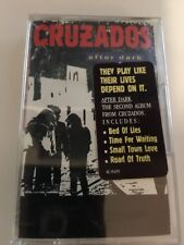 Cruzados After Dark Cassette New Sealed Free First Class US