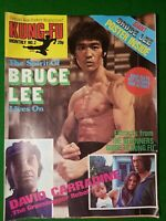 BRUCE LEE, KUNG-FU MONTHLY NO 2 1970S RETRO MARTIAL ARTS MAGAZINE kfm poster mag