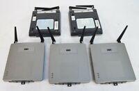 Lot of 5 Cisco Aironet AIR-AP1231G-A-K9 Wireless Access Point WAP 802.11