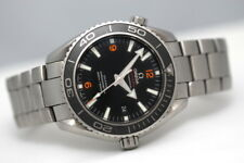 Men's Omega Seamaster Planet Ocean 46mm XL Co-Assiale automatico cronometro orologio