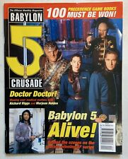 Babylon 5 The Official Monthly Magazine August 1999 Vol 2 No 15 Richard Biggs