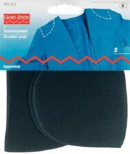 1 Paar Schulterpolster M-L Halbmond Haftverschluss schwarz Prym 993817