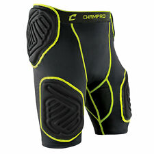Champro Bull-Rush 5-Pad Integrated Football Girdle Youth or Adult Padded Shorts