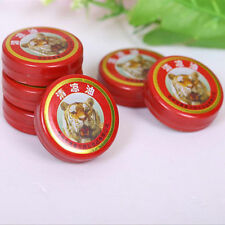 2pcs QingLiangYou Balm oil tiger For Headaches Carsickness Itching  ym