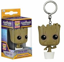 Funko Pop Keychain GOTG Guardians of the Galaxy Dancing Groot Vinyl Bobble Head