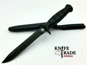 Bundeswehr German Military MI220 Combat Knife Reproduction + Sheath Tactical