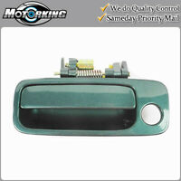 Set 4pcs Outside Door Handle For 98 99-03 Toyota Sienna Sailfin Blue 8N7 DS463