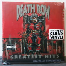 'DEATH ROW GREATEST HITS' Ltd. CLEAR Vinyl 4LP Dr Dre 2Pac Ice Cube Snoop NEW
