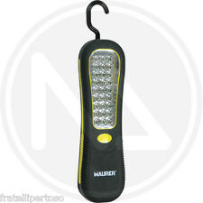 TORCIA A BATTERIA MAGNETICA 27 LED ALTA LUMINOSITA' MAURER 93771
