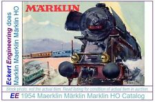EE 1954 NEW Marklin Catalog D 54 E $ in New Condition