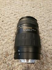Quantaray 70-300mm Tele-Macro Lens for Canon EF Mount AS IS