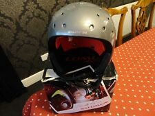 Salomon Seek PF Ski/Snowboard Helmet in charcoal/blk Size XL 60-61cm 786 266 61
