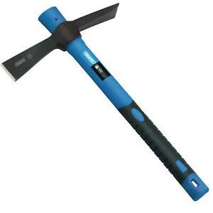 Draper Pickaxe Lightweight Mini Mattock Fibreglass Shaft Handle Cutter Axe 400g