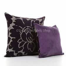 Chenille Fashion Floral Decorative Cushions