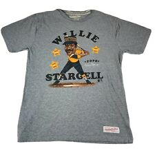 Willie Stargell Stars Pittsburgh Pirates Mitchell And Mess T Shirt L Large #447