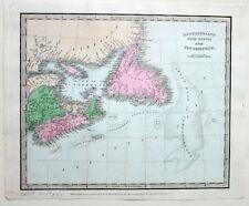 1833 NEWFOUNDLAND Nova Scotia NEW BRUNSWICK Great Bank SABLE I. David Burr RARE
