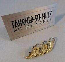 Art Deco Schmuck Brosche 925 Silber vergoldet Theodor Fahrner Pforzheim um 1930