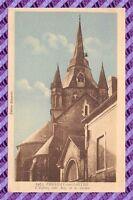 CPA 72 - FRESNAY  sur SARTHE l'eglise coté Est et le clocher