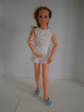 "Vintage 1972 Ideal Toy Corp Harmony Doll 22"" Hippie Music Doll Highlighted Hair"