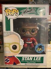 Funko Pop! Stan Lee Comikaze Exclusive Superhero RED *NEW *RARE *Vaulted