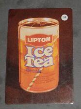 CALENDARIO DE LA MARCA LIPTON ICE TEA DEL AÑO 1988