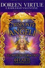 LE RISPOSTE DEGLI ANGELI LE CARTE DELL'ORACOLO DOREEN VIRTUE VALENTINE RADLEIGH