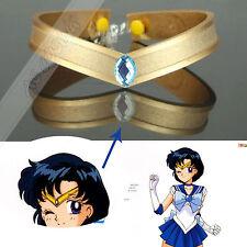 Sailor Mercury Mizuno Ami Amy Anderson Cosplay Prop Accessory Headwear Halloween