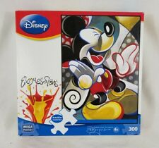 Disney Expressions Mickey Mouse Jigsaw Puzzle 300 Pieces Mega COMPLETE Rogerson