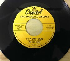 IT'S A CRYIN' SHAME - YOUR FOR ME - THE FIVE KEYS - FTM ROCKABILLY